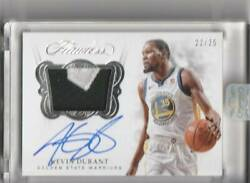 2017-18 Panini Flawless Kevin Durant Nba Card Patch Auto Autograph