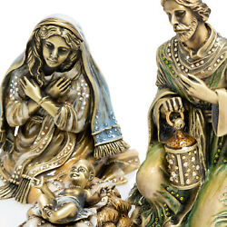 New Jay Strongwater Nativity And Crech 4,800 Bin 2,395 Free Ship
