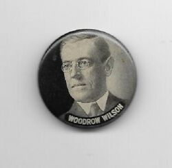 Woodrow Wilson 1 1/4 Picture Pinback Button Pin
