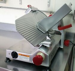 Berkel Meat And Cheese Slicer - 12 Blade - 45 Degree Angle Gravity Feed -andnbsp