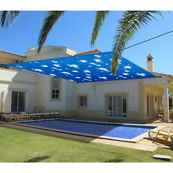 Patio Outdoor Universal Pergola Canopy Cover Waterproof-sky 14and039-16and039 W/grommets