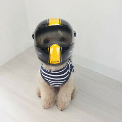 Motorcycle Safety Helmet Small For Little Dogs Pets Cat Puppy Biker New 2021 $35.00