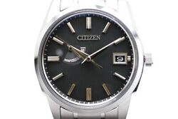 Citizen Watch Menand039s Quartz The Eco Drive A010-t018530 Black Shaking Stain