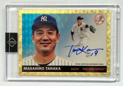 Limited To 1/1 Piece Masahiro Tanakaand039s Direct Sign 2020 Topps Transcendent