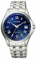 Citizen Watch Exceed Eco Drive Direct Flight Pair Cb1080-52l Men Silver F/s New