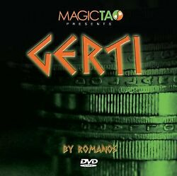 Gerti Magic Coin Trick By Ramanos For Ages 13 And Up