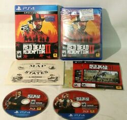 Red Dead Redemption 2 Special Edition Playstation 4 / Ps4 Tested Free Ship