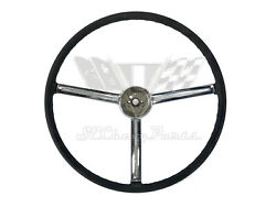 1967 Chevy Bel Air Steering Wheel With Horn Ring Bezel Used