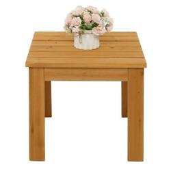 Wooden Square Side End Table Living Room Bedroom Furniture Coffee Stand Patio Us