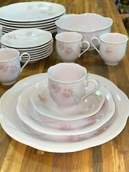 Mikasa Rondo Sweet Leilani Whole Tea Cup/dish Set Excellent Condition
