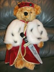 Hermann Spielwaren King Arthur With Excaliber Mohair Limited Edition137 Of 500