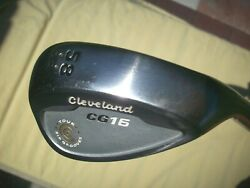 Cleveland Cg16 Wedge 58 Degrees 12 Bounce Right Tour Zip Grooves Vg To Excellent