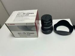 Canon Ultra Wide-angle Zoom Lens Ef-s10-22mm F3.5-4.5 Usm
