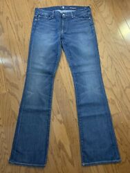 7 For All Mankind The Kimmie Womenand039s Bootcut Jeans - Size 33 X 35.5