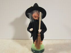 Byers Choice Spooktacular 2020 Halloween Gnome Witch With Broom