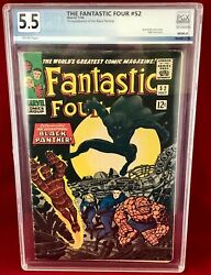 Fantastic Four 52 Comic 1st Appearance Of Black Panther Not Cgc 5.5