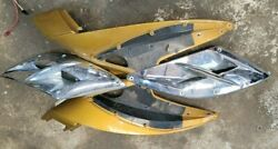 Sea Doo Rxp Front Lh Rh Side Cover Panel Grille Upper Moulding Fairing Maya Gold
