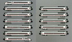 Kato 10-1512 And 10-1513 Ice4 Inter City Express 12 Cars Full Set N Scale