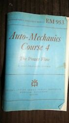 Em953 Auto Mechanics Course 4 The Power Flow Issued By Us Armed Forces 1944