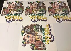 4 Mardi Gras Poster/posters/print Signed Numbered Limited To 500