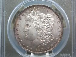 1891 Cc Morgan Silver Dollar 1 Pcgs Ms63 116 East Coast Coin And Collectables