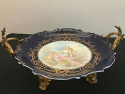 French Sevres Porcelain And Bronze Antique, Signed By Collot