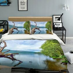 3d Tree Trunk Forest 3133na Bed Pillowcases Quilt Cover Duvet Assaf Frank Fay
