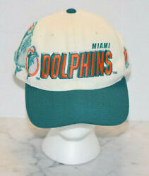 Miami Dolphins Vintage Nfl Pro Line Hat Pre-owned
