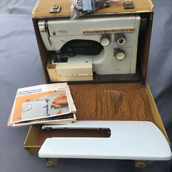 Viking Husqvarna 6430 Sewing Machine And Case Sews Straight - For Parts Or Repair