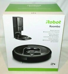 Irobot Roomba I7+ Wifi Connected Robot Vacuum W/automatic Dirt Disposal I7550