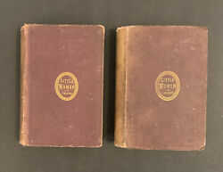 Little Women Louisa May Alcott 1870 Part First And Second First Edition