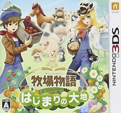 The Land Of The Beginning Of The Ranch Story No Benefits ―― 3ds From Japan