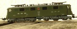 Lima 208046 H0 Electric Locomotive Ae 6/6 The Sbb Epoch 3/6 Used Get Boxed