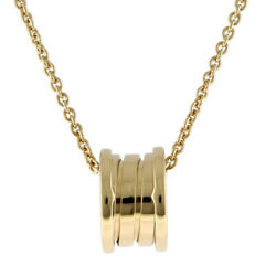 Bvlgari Necklace Gold 18k K18 Gold B-zero.1 From Japan Used