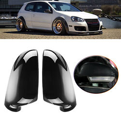 2pcs Replacement Parts Rear View Mirror Shell Mirror Caps For Vw Jetta Eos