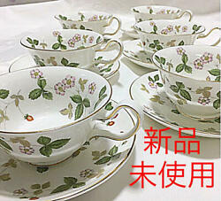 Wedgwood/ Wild Strawberry/cup Saucer Customer Sets