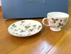 Wedgwood Wild Strawberry Cup Saucer Sets