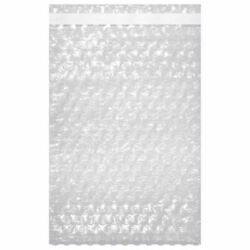 15 X 17.5 Bubble Out Pouches Bags Wrap Cushioning Self Seal Clear Protective