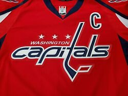 Team Issued 2016 - 2017 Alex Ovechkin Washington Capitals Jersey W/ Meigray Tag