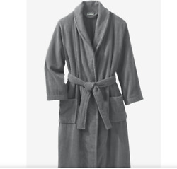 King Size Menand039s Big And Tall Terry Bathrobe With Pockets 7xl Big Gray
