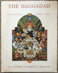 Szyk Passover Haggadah Lavishly Illustrated Crown And Tablet Jeweled Cover