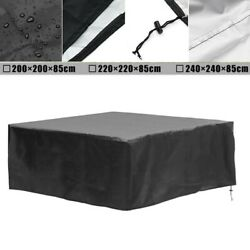 Waterproof Hot Tub Dust Spa Cover Cap Square Anti-uv Durable Protective Guard
