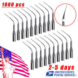 1000x Dental Perio Scaling Tips Pd3 For Dte Satelec Ultrasonic Scaler Usa Usps