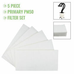 5 Xf250 Prefilters 5 Replacement Boxy Primary Filters For Xf250 Smoke Purifiers