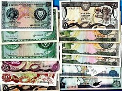 Cyprus Banknotes - Central Bank Of Cyprus Xf - Unc Choose Your Banknote