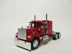Dcp / First Gear 1/64 Scale Mack Super Liner Red Red Frame