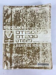 Suzuki 1991 Boat Outboard Motor Dt150/175 Dt200 Dt225 Service Manual - Used