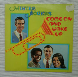 Mister Rogers Come On And Wake Up, 1972, No Spindle Hole Marks At All, Exc