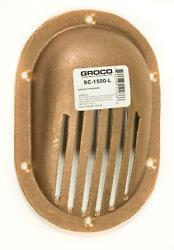 Groco Sc-1500-l Bronze Clam Shell Style Slotted Hull Scoop Strainer To 1.5 Hull