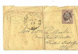 Alabama Tuscaloosa Fancy Cancel - Cabinet Maker And Undertaker Cover To Fosters Po